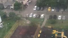 Массовое вооруженное побоище в Москве сняли на видео