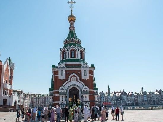 В Йошкар-Оле возобновили службу в часовне Петра и Февронии Муромских