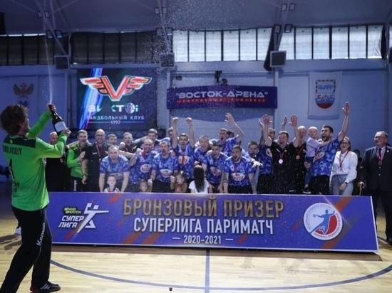 Ставропольские гандболисты «Виктор» взяли бронзу чемпионата России