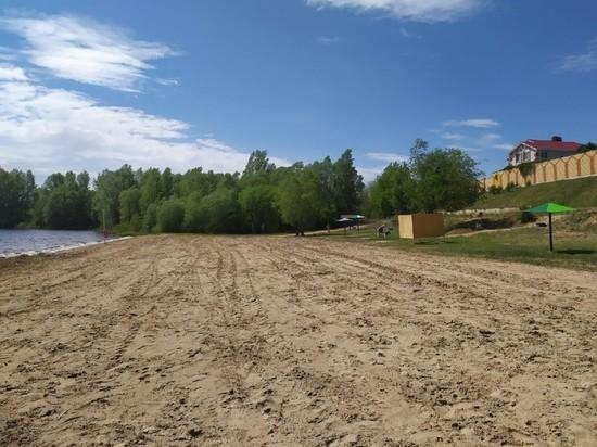Городской пляж в Волжске подготовлен к купальному сезону