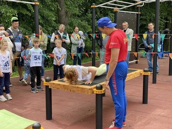 В Тульской области стартовало спортивное лето с ГТО