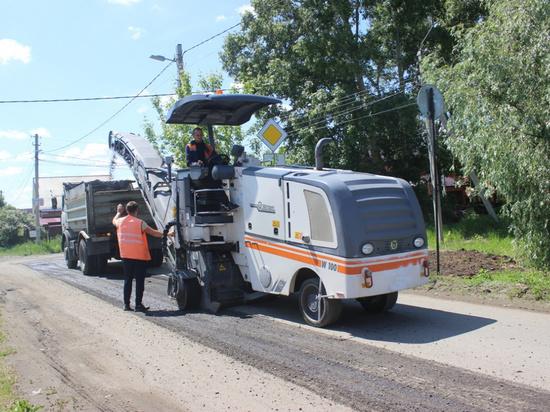 Дорогу отремонтируют в барнаульском поселке Авиатор