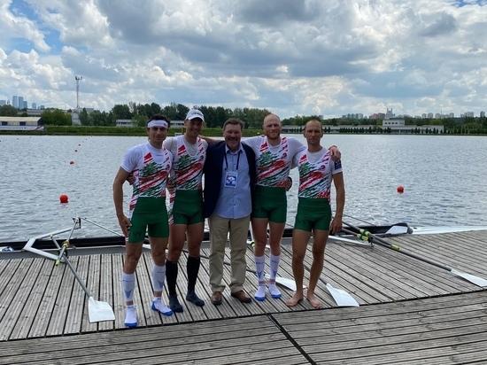 Калужские гребцы взяли серебро в финале Московской регаты