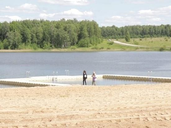 В Ивановской области карьер превратили в безопасный бассейн