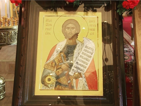 В Хабаровск прибудет крестный ход на мотоциклах с иконой князя Александра Невского