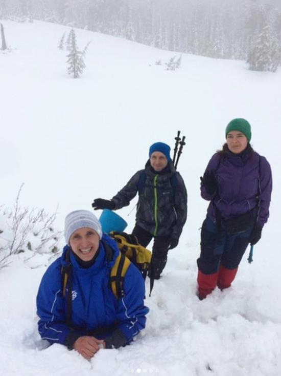 Снег глубиной 1,2 м выпал на юге Красноярского края