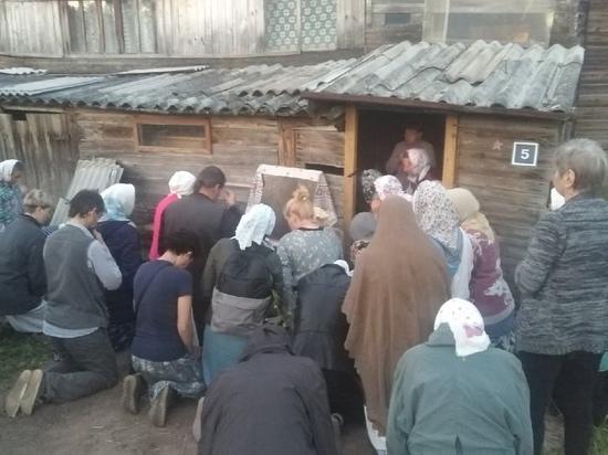 Во время Великорецкого крестного хода в Кировской области чудесным образом явилась Богородица