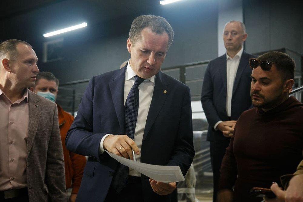 Вячеслав Гладков проинспектировал ремонт белгородского ЦМИ