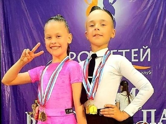 Юные танцоры из Брянска завоевали три золотых медали