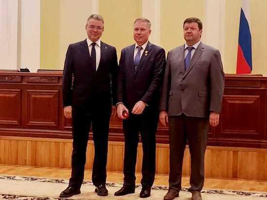 Замглавы дивизиона «Удобрения» «ЕвроХима» Виктор Кайль награжден высшей наградой Ставрополья
