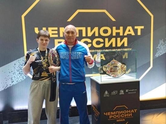 Спортсменка из Калмыкии стала чемпионкой России по MMA