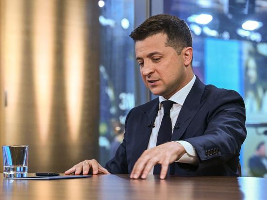 Президент Украины выступил как отвергнутый любовник