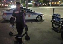 В Челябинске массово штрафуют водителей электросамокатов