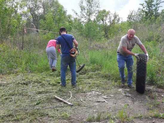 В Серпухове приступили к расчистке участка под питомник животных