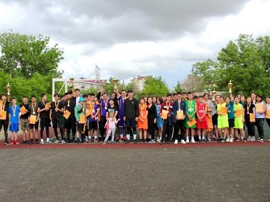 В Калмыкии прошли всероссийские массовые соревнования по баскетболу
