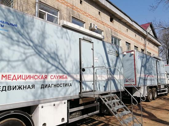 Врачи медицинского автопоезда осмотрели около 5 тысяч юных приморцев