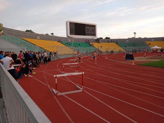 Команда Железноводска по легкой атлетике едет домой с золотом