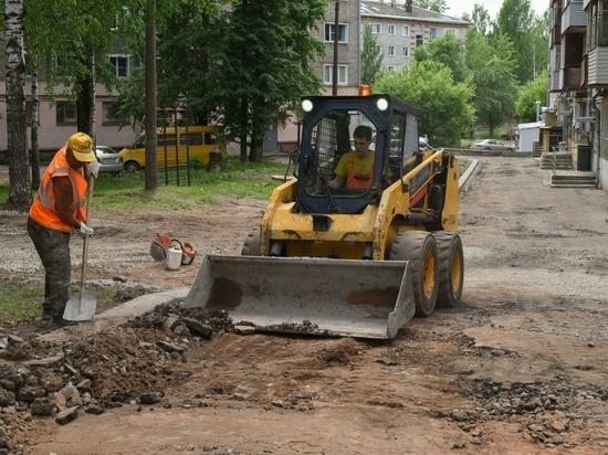 В Кирове отремонтируют 36 дворов за 70 миллионов