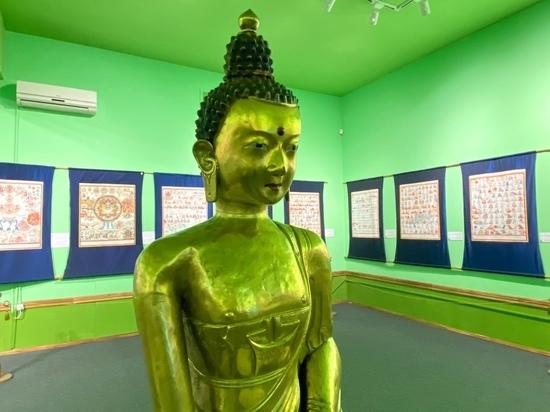 В Туве открылась выставка «Атлас тибетской медицины»