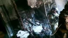 В Новосибирске сгорел цех по производству автомобильных стекол