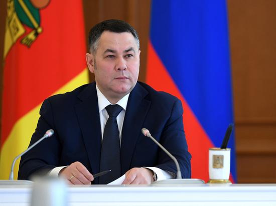 Губернатор Тверской области вошел в тройку лидеров медиарейтинга губернаторов ЦФО за май