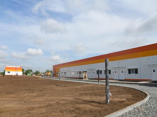Губернатор осмотрел место строительства инфекционной больницы в Калаче