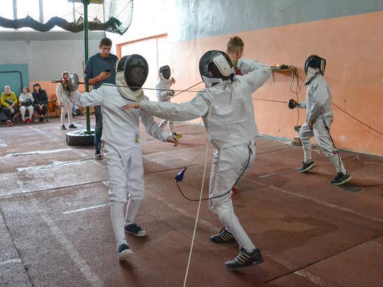 В Донецке прошли соревнования по фехтованию