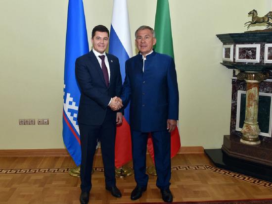 Взаимодействие по экономическим вопросам обсудили главы Татарстана и Ямала
