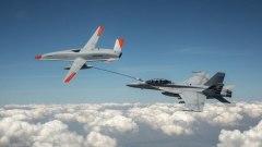 Мировая авиация совершила очередной прорыв: дозаправка в воздухе от дрона