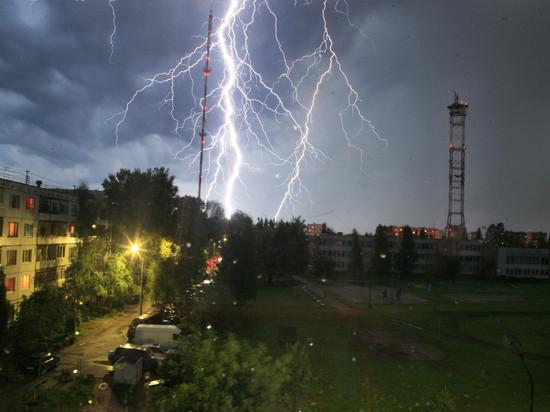 В ближайшие два часа в Псковской области ожидаются грозы и сильный ветер