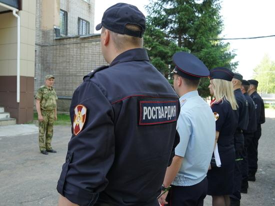 Учебно-методические сборы прошли в управлении Росгвардии по Псковской области