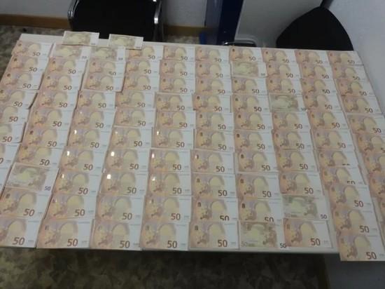 16 тысяч евро пытались незаконно провезти через границу в Псковской области