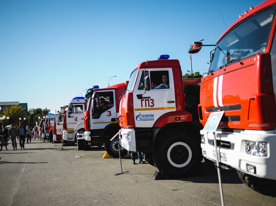 В столице Калмыкии был ликвидирован пожар