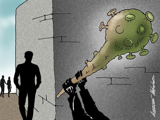 Конспирология мешает бороться с пандемией