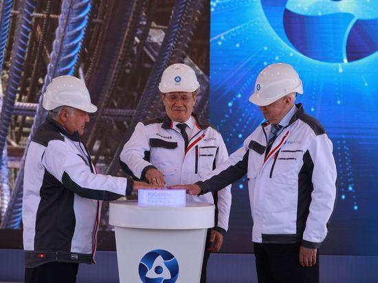 Росатом начал в Северске строительство уникального энергоблока с реактором на быстрых нейтронах БРЕСТ-ОД-300