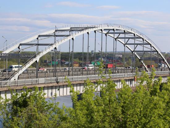 В Уфе продолжается строительство нового моста через Белую