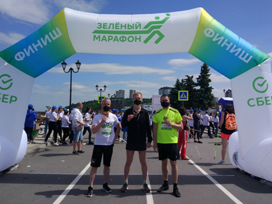 Сотрудники УФСИН Чувашии приняли участие в «Зеленом марафоне»