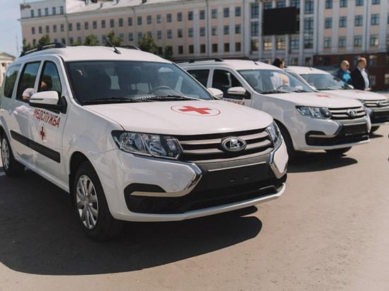 В районные больницы Кировской области поступили «Лады Ларгус»