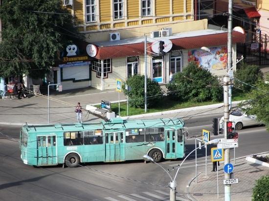 Стоимость проезда на троллейбусе в Чите вырастет до 26 рублей