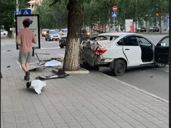 В центре Барнаула столкнулись два автомобилиста без прав