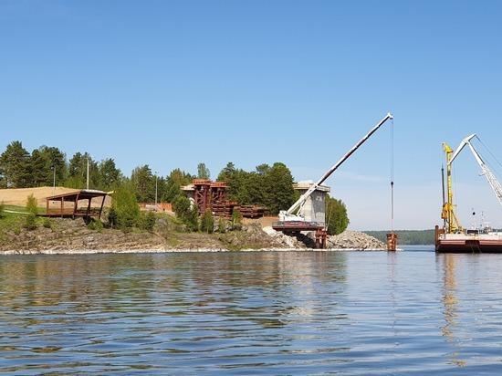 Строительство самого северного моста через Енисей началось в Красноярском крае