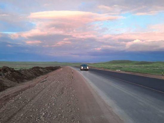 На участке автотрассы «Байкал» в Бурятии запустили рабочее движение