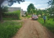 Ребенок на велосипеде попал под колеса автомобиля в Красногородске