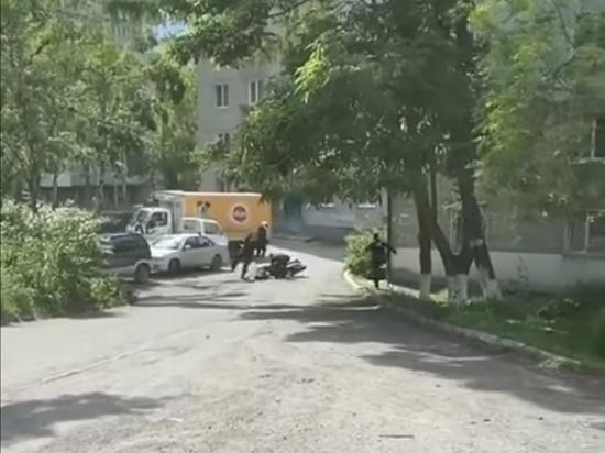 Полиция устроила погоню за байкером во Владивостоке