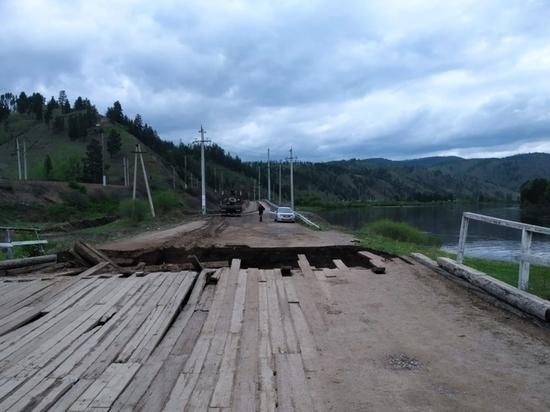 Второй за день мост рухнул на западе Забайкалья
