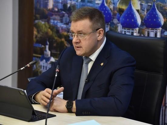 Губернатор Любимов назвал причину пожара в рязанской больнице