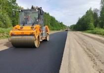 Завершается ремонт на трассе Опочка – Красногородск – граница с Латвией