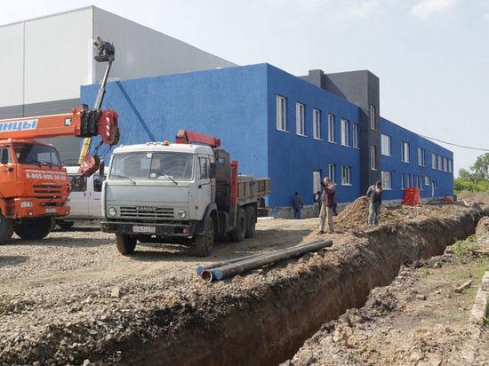 Новый ледовый спортивный комплекс откроется в июле в Кемерове