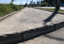 Велосипедисты Петрозаводска недовольны отремонтированным Лесным проспектом