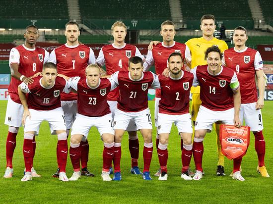 Показываем состав сборной Австрии на чемпионат Европы-2020.